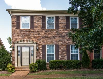Nashville Condo/Townhouse For Sale: 8960 Sawyer Brown Rd