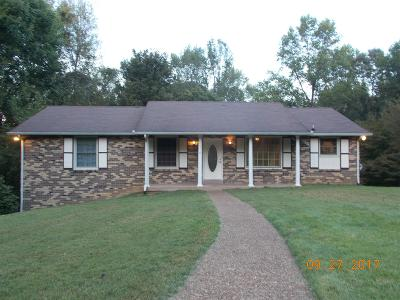Ashland City TN Single Family Home Under Contract - Showing: $199,900
