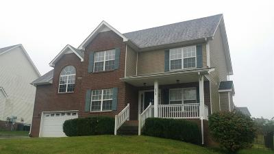 Clarksville Single Family Home For Sale: 633 Winding Bluff Way