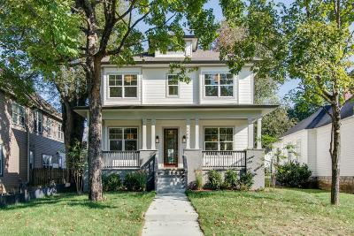 Sylvan Park Single Family Home Under Contract - Showing: 4408 Nevada Ave