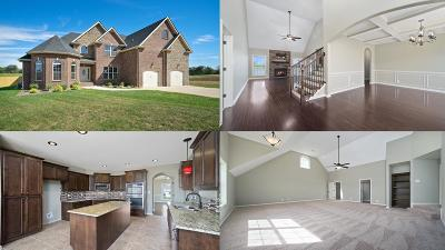 Clarksville Single Family Home Under Contract - Showing: 615 Larkspur Drive