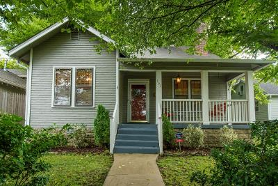 East Nashville Single Family Home For Sale: 107 Lindsley Park Dr