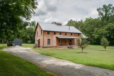 Kingston Springs Single Family Home For Sale: 1421 Craggie Hope Rd