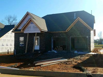 White House Single Family Home For Sale: 132 Telavera Drive - Lot 7