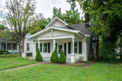 Sylvan Park Single Family Home Under Contract - Showing: 4205 Elkins Avenue