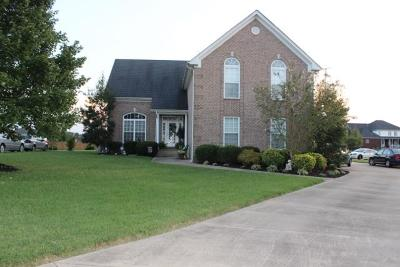 Pleasant View Single Family Home For Sale: 1029 Brandon Way