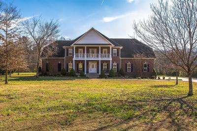 Thompsons Station  Single Family Home For Sale: 6637 Bethesda Arno Road