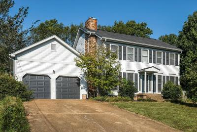 Mount Juliet Single Family Home For Sale: 2027 Hidden Cove Rd
