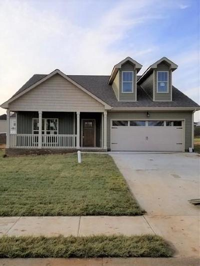 Clarksville Single Family Home For Sale: 872 Cherry Blossom Ln