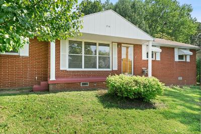 Christian County, Ky, Todd County, Ky, Montgomery County Single Family Home Under Contract - Showing: 214 Orleans Dr