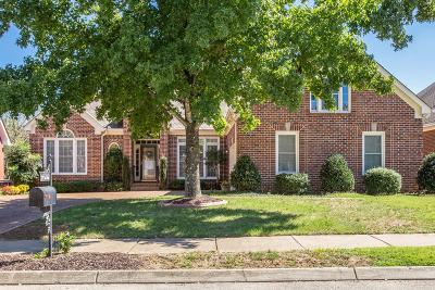 Franklin Single Family Home Under Contract - Showing: 278 Noah Dr