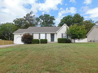 Smyrna, Lascassas Single Family Home Under Contract - Showing: 1007 Sky Valley Trl
