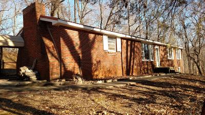 Clarksville Single Family Home Under Contract - Showing: 839 Britton Springs Rd