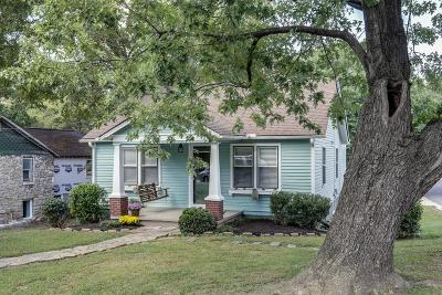 Sylvan Park Single Family Home Under Contract - Showing: 5200 Elkins Ave