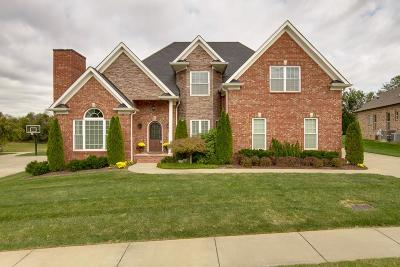 Clarksville Single Family Home For Sale: 2489 Settlers Trc