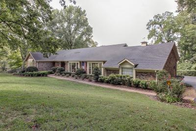 Brentwood Single Family Home Under Contract - Showing: 5323 Lancelot Dr