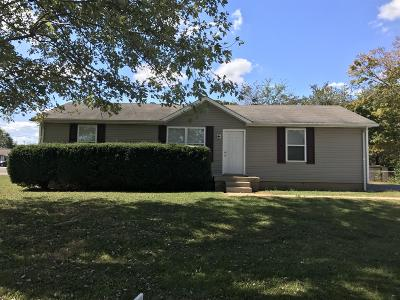 Clarksville Single Family Home Under Contract - Showing: 239 Orleans Dr