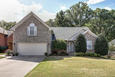 Mount Juliet Single Family Home Under Contract - Showing: 5118 Citation Court