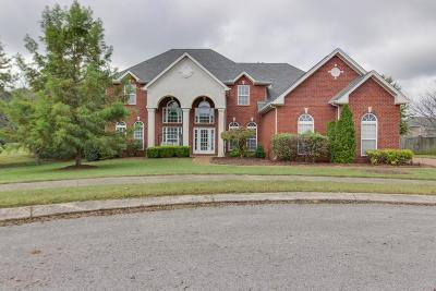Franklin Single Family Home Under Contract - Showing: 3104 Kings Mill Ct
