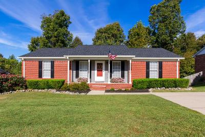 Ashland City Single Family Home Under Contract - Showing: 313 Eisenhower Dr