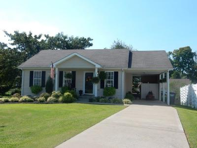 Christian County, Ky, Todd County, Ky, Montgomery County Single Family Home For Sale: 2759 Cider Dr