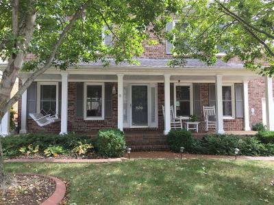 Franklin Single Family Home For Sale: 839 Thatcher Way