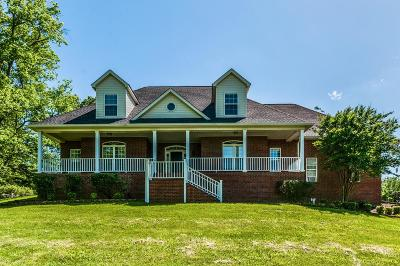 Smyrna Single Family Home For Sale: 8323 Del Thomas Rd