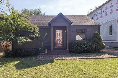 Nashville Single Family Home For Sale: 611 Moore Ave