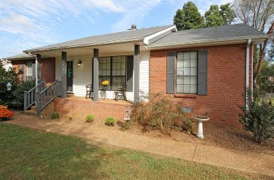 White House Single Family Home For Sale: 213 Northwoods Dr