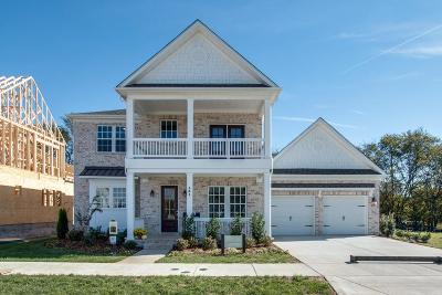Hendersonville Single Family Home For Sale: 101 Catalina Way -lot 51