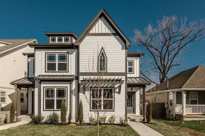Nashville Single Family Home Under Contract - Showing: 5410 B California Ave