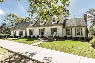 Hendersonville Single Family Home Under Contract - Showing: 106 Applewood Court