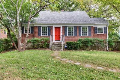Green Hills Single Family Home For Sale: 4118 Eden Ave