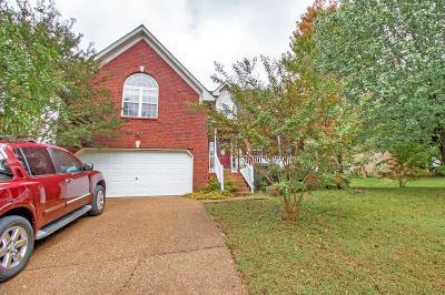 Mount Juliet Single Family Home Under Contract - Showing: 508 Parrish Way