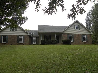 Christian County, Ky, Todd County, Ky, Montgomery County Single Family Home For Sale: 3737 Lylewood Rd