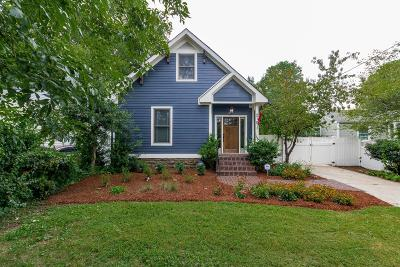Sylvan Park Single Family Home Under Contract - Showing: 218 54th Ave N