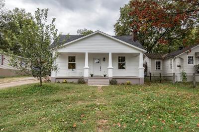 Nashville Single Family Home For Sale: 315 Morton Ave