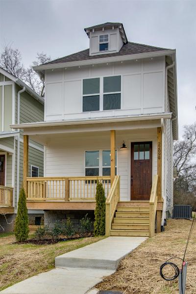 Nashville Single Family Home Under Contract - Not Showing: 2209 B 11th Avenue North