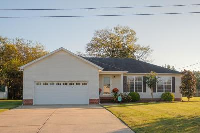 Shelbyville Single Family Home Under Contract - Showing: 103 Kolby Dr