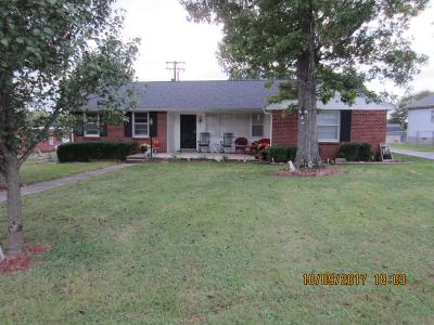 Lewisburg Single Family Home For Sale: 116 Armory Dr