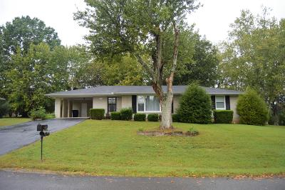 Shelbyville Single Family Home For Sale: 1106 Delmar Ave