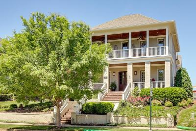 Franklin Single Family Home For Sale: 703 Stonewater Blvd