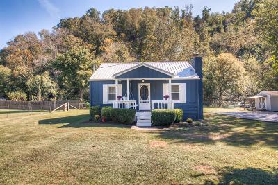 Ashland City Single Family Home For Sale: 4701 Bull Run Rd