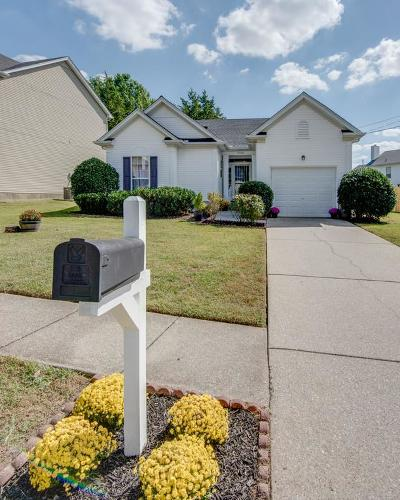 Davidson County Single Family Home Under Contract - Showing: 5708 Murphywood Xing