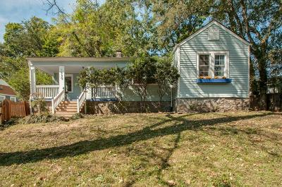 East Nashville Single Family Home Under Contract - Showing: 1432 Riverside Dr