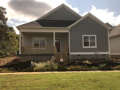 Kingston Springs Single Family Home Under Contract - Showing: 7 Ellersly Way