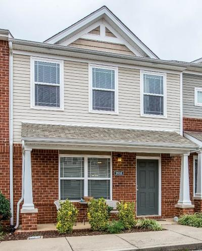 Spring Hill Condo/Townhouse For Sale: 2016 Arum Ct
