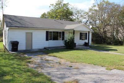 Bradyville Single Family Home For Sale: 5956 Bradyville Rd