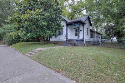 Nashville Single Family Home Under Contract - Showing: 754 Lynwood Ave