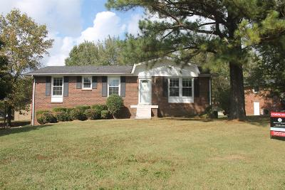 Hendersonville Single Family Home For Sale: 100 Cheryl Ct